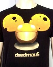 euc Deadmau5 T-Shirt Techno Electro Dance Industrial Concert Tour sz M
