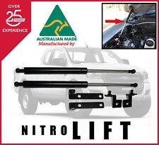 NITRO LIFT BONNET GAS STRUT CONVERSION KIT FORD PJ PK RANGER 2006-2011 HOOD.