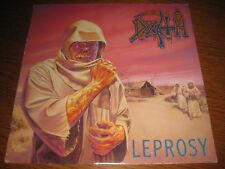 Death-Leprosy LP, Under One Flag UK 1988, OIS, megarar, 8 Tracks,Vinyl excellent