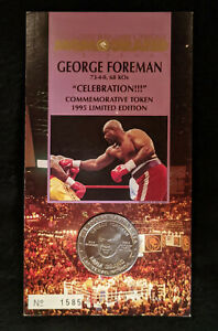 1995 MGM Grand Boxing Commemorative Token - George Foreman