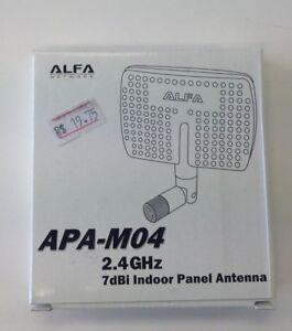 ALFA Network APA-M04 2.4 GHz 7dBi Indoor Panel Antenna