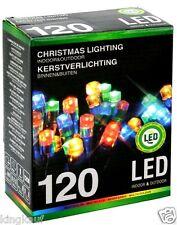 Lichterkette 120 LED Multicolor Weihnachts Beleuchtung innen außen Lichtschlauch