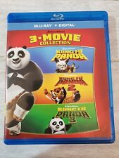 Kung Fu Panda 3-Movie Trilogy (Blu Ray, 2018) 1 2 3