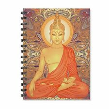 Buddha Wire Bound Spiral Notebook A5 Journal Diary for School Office 170 Pages