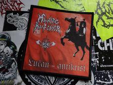 Maniac Butcher Patch Black Metal Judas Iscariot