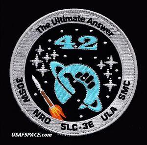 ORIGINAL NROL 42 - ATLAS V VAFB USAF DOD NRO CLASSIFIED SATELLITE Launch PATCH