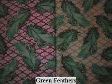 Green Feathers 2 Belly Bands Chinese Crested Italian Greyhound Toy Dog Diaper