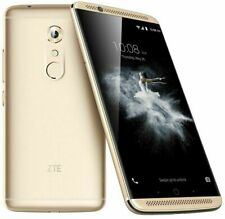"ZTE Axon 7 64GB Gold 5.5"" inch (Unlocked) Smartphone Dual SIM"