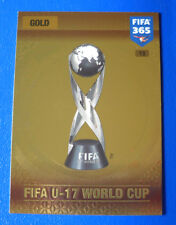 CARD PANINI ADRENALYN FIFA 365 2016-17 2017 - N.13 - FIFA U-27 WORLD CUP - GOLD