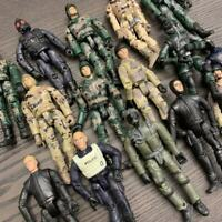Random 5Pcs GI Joe military The Ultimate Soldier WWII 3.75in Figure Boy Toy Gift