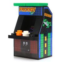 Custom LEGO Skeeball Machine Arcade for Minifigures