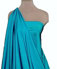 LYCRA SPANDEX STRETCH DANCE  FABRIC TROPICAL TURQUOISE, DANCE, LEOTARD , BTY