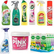Mrs Hinch Ultimate Cleaning Bundle The Pink Stuff Zoflora Cif Harpic Flash 8pc