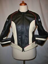 JOE ROCKET LADIES  LEATHER MOTORCYCLE JACKET     SIZE --MEDIUM