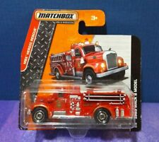 2014 Matchbox  MBX HEROIC RESCUE 1963 MACK B MODEL Fire Truck. Short card. VHTF