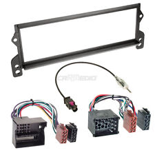 BMW Mini R52 04-08 1-Din Car Radio Installation Set Adapter Cable FACEPLATE