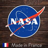 Autocollant Sticker NASA Logo Space Espace, Laptop Mur Smartphone, 9cm LSN004
