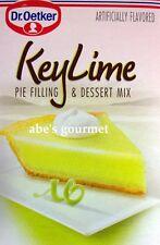 Dr. Oetker Key Lime Pie Filling & Dessert Mix (Pack of 2) 7.5 oz Boxes