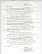 RARE CUBAN REVOLUTION SIGNED LETTER RAMON CASTRO 1961 GREAT CONTENT SANTIAGO BIO