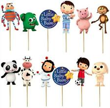 BABY BUM CUPCAKE TOPPERS Party Supplies BALLOON  SUPPLIES CAKE TOPPER