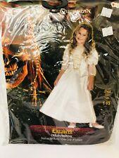 Halloween Costume Pirates Of The Caribbean Elizabeth White 4-6X