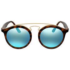 Ray Ban Gatsby I Round Blue Mirror Sunglasses