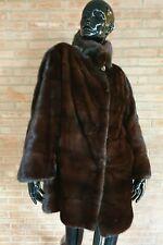 Сappotto in PELLICCIA di visone mink fur coat fourrure peltz Nerz blackglama