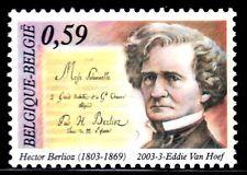 SELLOS BELGICA 2003 3149 MUSICA HECTOR BERLIOV 1v.