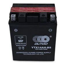 YTX14AH-BS ATV Battery for Honda ATC200 Big Red ATC200M TRX200 FourTrax