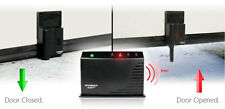 Garage door opener alarm Security Safety Wireless audio Monitor+2 Sensor Alert A