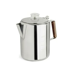 Tops Stainless Steel Percolator 12 Cup Coffee Maker