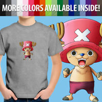 Toddler Kids Tee Youth T-Shirt One Piece Tony Tony Chopper Straw Hat Pirate Cute