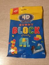 4d 3d Gummy Block Sweets sweets gamers