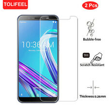 2Pcs Tempered Glass Screen Protector Film For Asus Zenfone Max Pro M1 ZB601KL