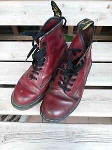 Dr Martens Vintage  Oxblood Cherry UK Size 8
