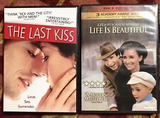 The Last Kiss and Life Is Beautiful Lot Of 2 Dvds Region 1 North America