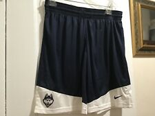 Nike University of Connecticut Uconn Basketball Shorts Huskies Dri Fit Sz Medium