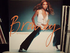 "BRANDY - AFRODISIAC (ALBUM POSTER)  12""x12""!!!  2004!!!  RARE!!!"