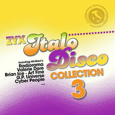 Italo LP Vinyl ZYX Italo Disco Collection 3 von Various Artists  2LPs