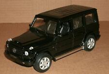 1/24 Scale Mercedes-Benz G500 Diecast Model G-Class Wagon - Welly 24012 Black