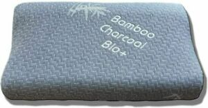 Charcoal Bamboo Contour Memory Foam Pillow Cervical Orthopaedic Neck Support