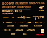 Meng Models 1:35 Modern Russian Individual Support Weapons Set Resin Model Kit