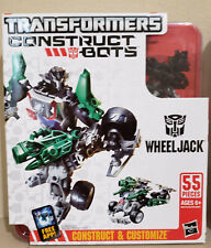 Transformers Construct Bots Wheeljack & Soundwave lot of 2! 100% Complete!!!