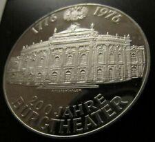 Österreich 100 Schilling Silber 1976 -200 Jahre Burgtheater PP Art. 001- 099