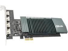 ASUS NVIDIA GeForce GT 710 Graphics Card (PCIe 2.0, 2GB GDDR5 Memory, 4 x HDMI P