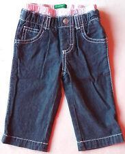 BENETTON♥JEANS GIRLS TROUSERS HOSE PANTALON PANTALONES джинсы♥3-6 mesi