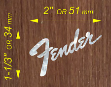 Mother of Pearl Fender Logo #TF19.2