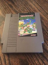 Teenage Mutant Ninja Turtles Original Nintendo NES Cart Works NE2