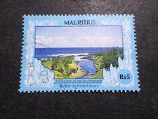 Islas Maurices Mauritius Sello 763  Flora Matasellado VF Usados Matasellados