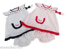 Vestiti e abbigliamento rossi in estate per bambina da 0 a 24 mesi